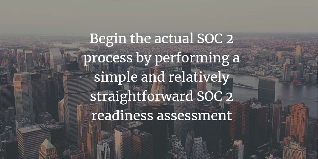 SOC 2 Readiness Assessment Fixed Fees