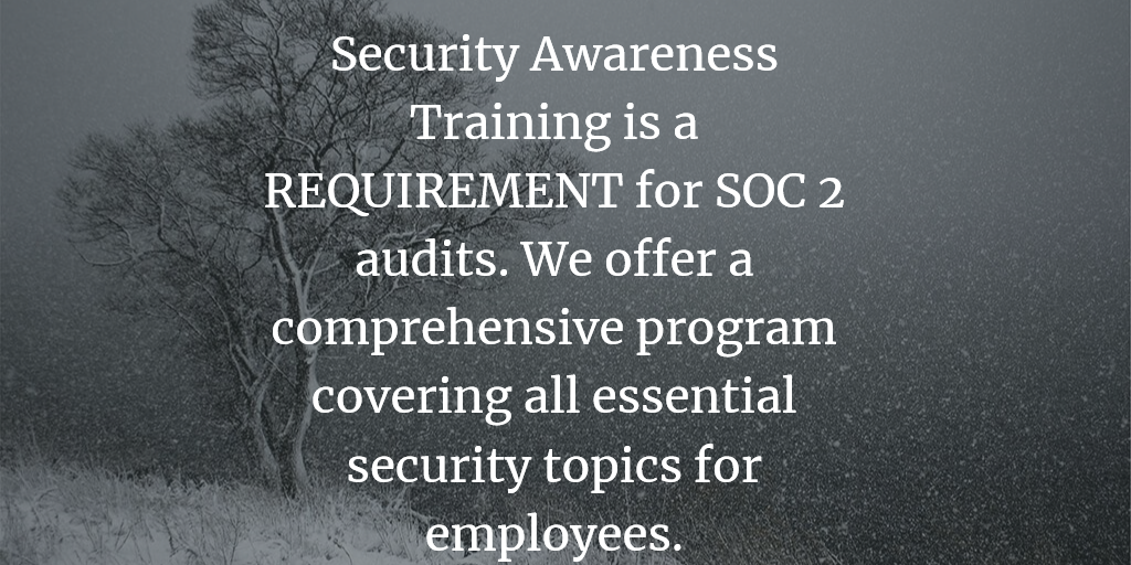 Security Awareness Training for SOC 2 Compliance